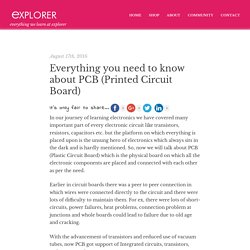Everything you need to know about PCB's