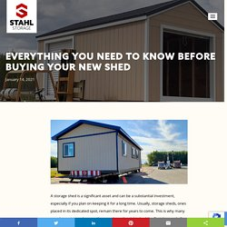 Everything You Need To Know Before Buying Your New Shed