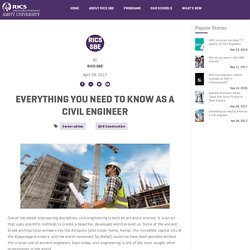 Everything you need to know as a civil engineer