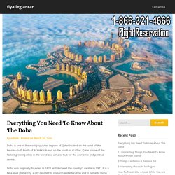Everything You Need To Know About The Doha