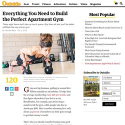 Everything You Need to Build the Perfect Apartment Gym