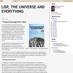 """Programming Algorithms"" Book"