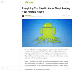 The Always Up-To-Date Guide to Rooting Any Android Phone