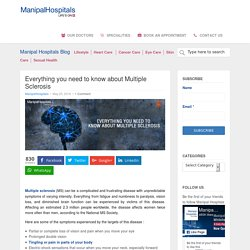 Everything you need to know about Multiple Sclerosis - Manipal Hospitals Blog