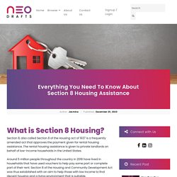 Everything You Need To Know About Section 8 Housing Assistance