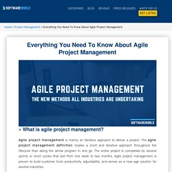 Everything You Need To Know About Agile Project Management - SoftwareWorld