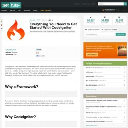 Everything You Need to Get Started With CodeIgniter
