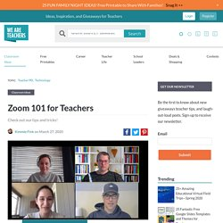 Everything Teachers Need to Know to Use Zoom for Online Teaching