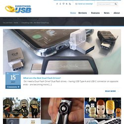 Everything USB, We Mean Everything from USB 3.0 to Offbeat Gadgets
