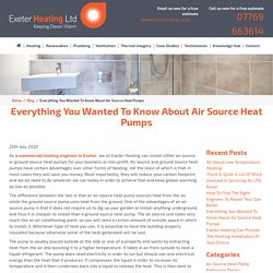 Everything You Wanted To Know About Air Source Heat Pumps