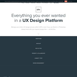 UXPin Features Collaborative Prototyping, 100s Of UI Patterns & More!