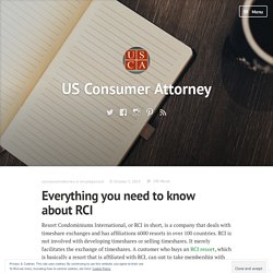 Everything you need to know about RCI