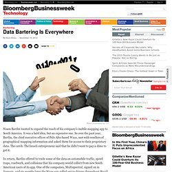 Data Bartering Is Everywhere