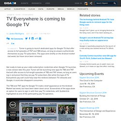 TV Everywhere is coming to Google TV — Online Video News (Build 20110920042010)