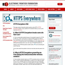 HTTPS Everywhere FAQ