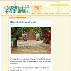 Historic Colorado Floods - News for Kids