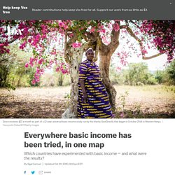 Everywhere basic income has been tried, in one map: Kenya; Iran; Alaska; Stockton, California; and more