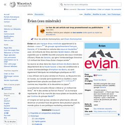 Évian (eau minérale)