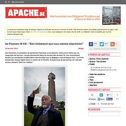 Jan Peumans (N-VA): «Bien évidemment que nous sommes séparatistes»