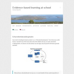 Evidence-based learning at school