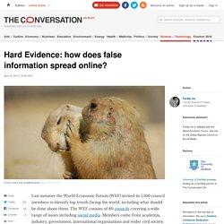 how false information spreads