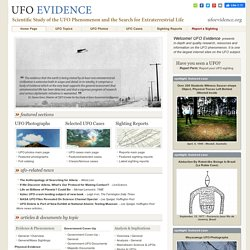 UFO Evidence - Scientific Study of the UFO Phenomenon