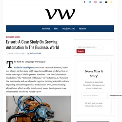 Evisort: A Case Study On Growing Automation In The Business World