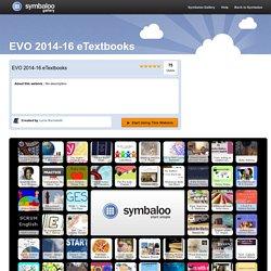 EVO 2014-16 eTextbooks