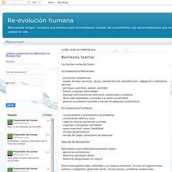 Re-evolución humana: Resiliencia familiar