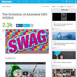 The Evolution of Animated GIFs [VIDEO]