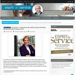 Tourisme : l'évolution de l'offre et des attitudes de service avec Françoise Gri