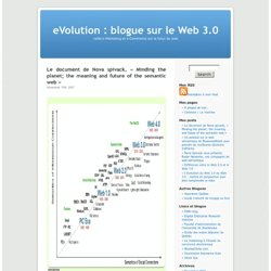 eVolution : blogue sur le Web 3.0