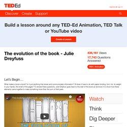 Evolution of the book - Julie Dreyfuss