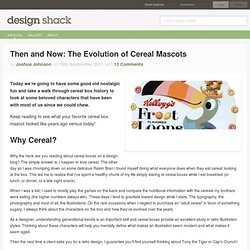 Then and Now: The Evolution of Cereal Mascots