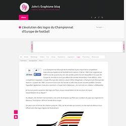 L'évolution des logos du Championnat d'Europe de football