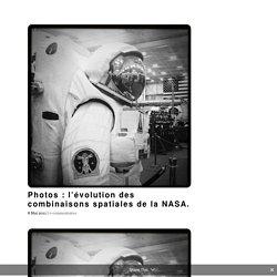 Photos : l'évolution des combinaisons spatiales de la NASA