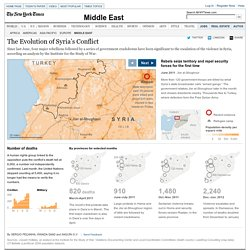 The Evolution of Syria's Conflict - Interactive Feature