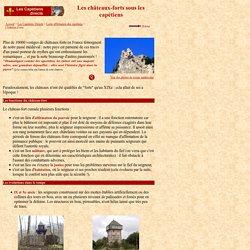 Evolution de la construction d'un château-fort