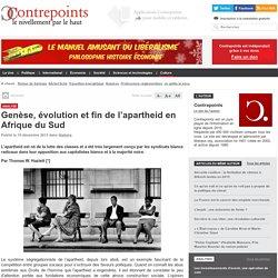 Genèse, évolution et fin de l'apartheid en Afrique du Sud