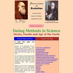 problems with radiometric dating techniques Find helpful customer reviews and review ratings for the age of the earth at amazoncom  and finally radiometric dating methods  problem with this idea .