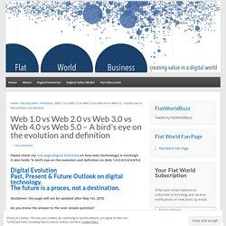 Du Web 1.0 au Web 5.0