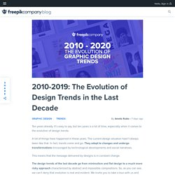 2010-2019: The Evolution of Design Trends in the Last Decade - Freepik Blog
