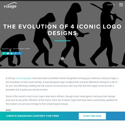 The Evolution of 4 Iconic Logo Designs