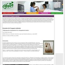 Evolution de l'imagerie médicale