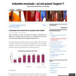 L'évolution du marché de la musique reste stable « Industrie mus
