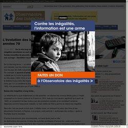 L'évolution des inégalités en France depuis les années 70