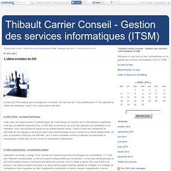 ✔ L'ultime évolution du DSI - Thibault Carrier Conseil - Gestion des services informatiques (ITSM)