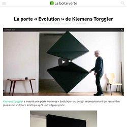 "La porte ""Evolution"" de Klemens Torggler"