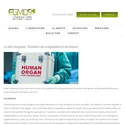 Le don d'organes : Évolution de la législation et ses enjeux – Egmos – Le site de l'entraide aux greffés de moelle osseuse