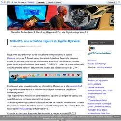 USB-DYS, une évolution majeure du logiciel DysVocal
